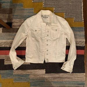 Blank NYC white jean jacket